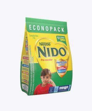 Nido+3 PrE-Escolar Dha Funda 2 kg