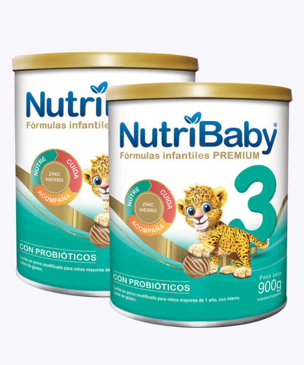 """Nutribaby Fase 3 900 gr """"PACK X 2"""""""
