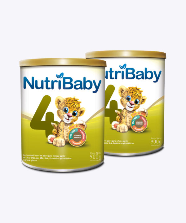 """Nutribaby Fase 4 900 gr """"PACK X 2"""""""