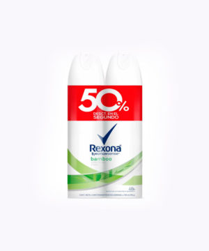 Pack Rexona Des. Rollon Bamboo 50ml + 50ml  Nuevo