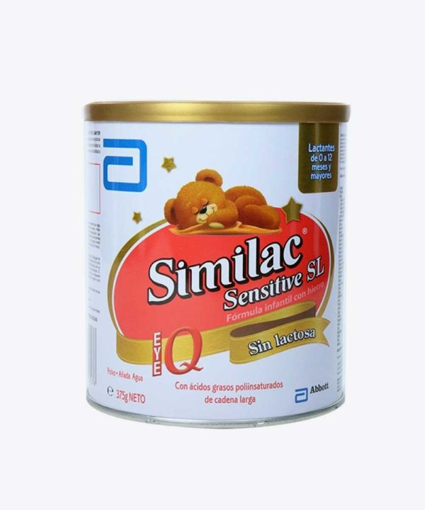 Similac Sensitive Sin Lactosa 375 gr