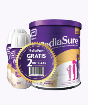 Pack Pediasure Plus Polvo Vainilla 900g+2 Liquido 200ml