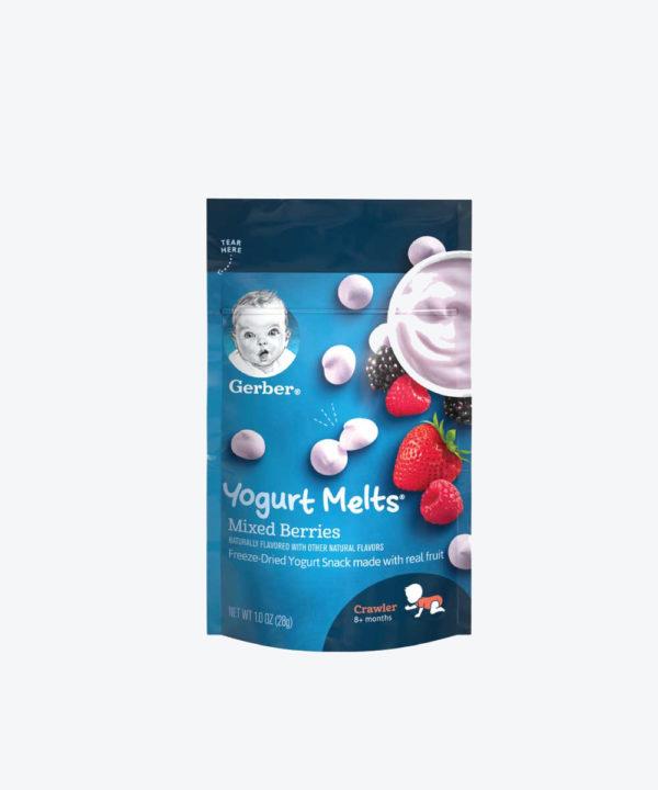 Gerber Yogurt Melts Mixed Berry 1oz  Nuevo
