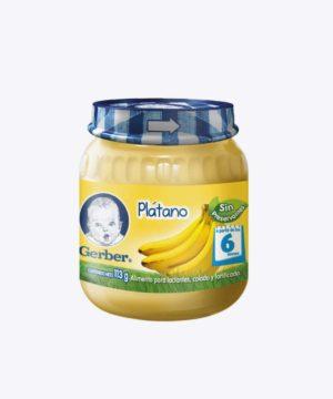 Gerber Compota 2da Etapa Banano 113gr