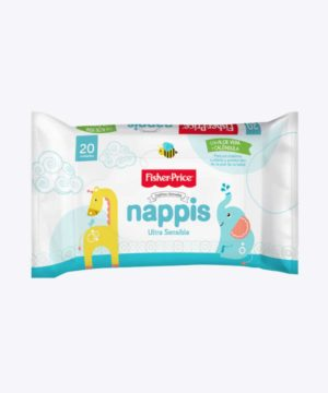 Toallas Humedas Nappis Fisher Price X 20