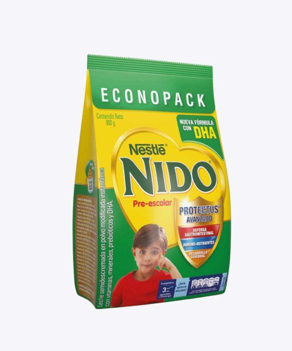 Nido+3 PrE-Escolar Dha Funda 800 gr