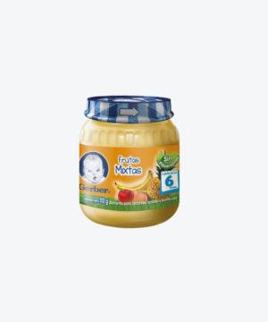 Gerber Compota 2da Etapa Fruta Mix 113gr