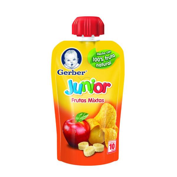 Gerber Junior Frutas Mixtas 120gr Nuevo