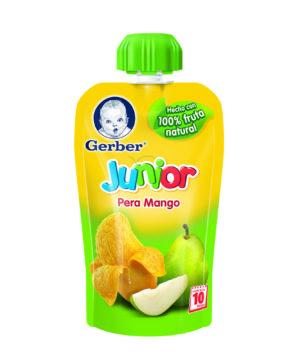 Gerber Junior Pera & Mango 120gr Nuevo