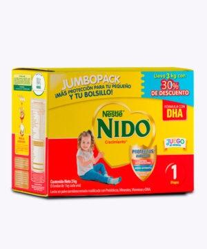 Nido+1 Crecimiento Dha Carton 3kg