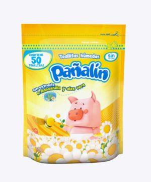 Pañitos Pañalin Manzanilla X 50