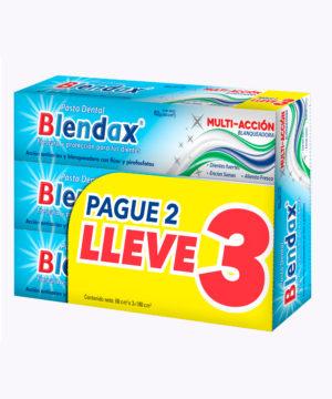 Blendax Pasta Dental Tripack Multiaccion 60cc Nuevo