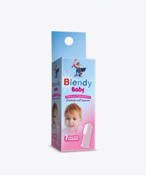 Blendy Baby Cepillo Dedal Pediatrico X 1