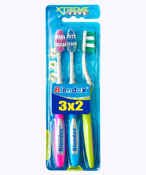 Blendax Cepillo Dental Adulto Tripack Nuevo
