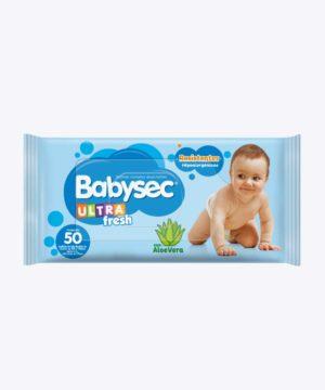 Toallas Humedas Babysec Ultra Fresh S/tapa X50