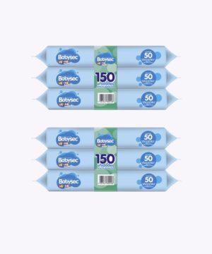 "Toallas Humedas Babysec Ultra Fresh Tripack X 150 ""PACK X 2"""