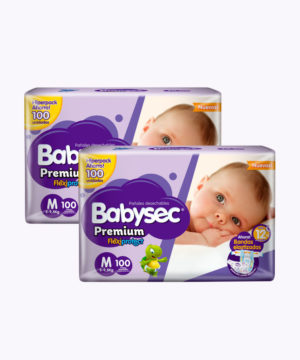 "Babysec Premium Flexi Protect Mx100 ""PACK X 200"""