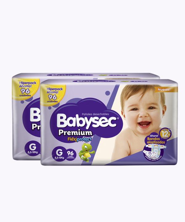 "Babysec Premium Flexi Protect G X 96 ""PACK X 192"""