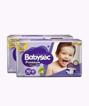 "Babysec Premium Flexi Protect Xg X88 ""PACK X 176"""