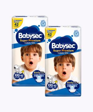 "Babysec Super Premium Mega Pack Xxgx42 ""PACK X 84"""