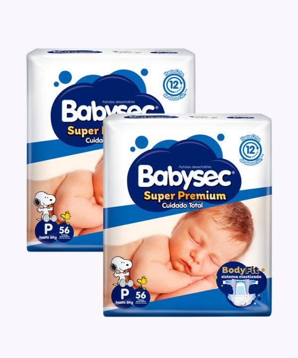 """Babysec Super Premium P X 56 """"PACK X 112"""""""