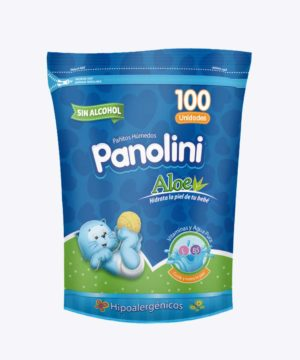 Pañitos Panolini (doypack) Repuesto X 100