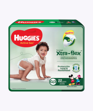 Huggies Active Sec  G X 22