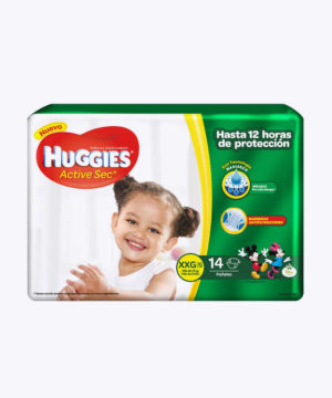 Huggies Active Sec  Xxg X 14