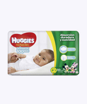 Huggies Active Sec  P X 50
