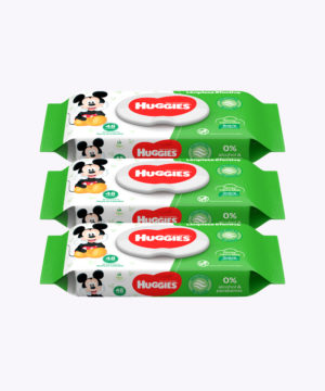 "Toallas Humedas Huggies Active Fresh Disney X48 ""PACK X 3"""