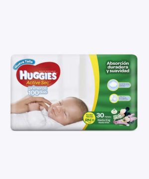 Huggies Active Sec  Primdias Rn X 30