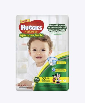 Huggies Active Sec A. PerfectO-Pants Xg X 22