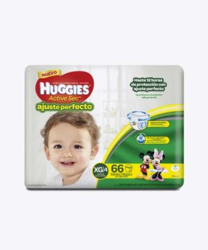 Huggies Active Sec A. PerfectO-Pants Xg X 66