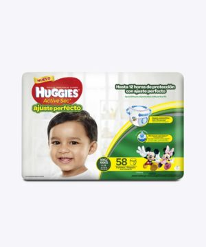 Huggies Active Sec A. PerfectO-Pants Xxg X 58