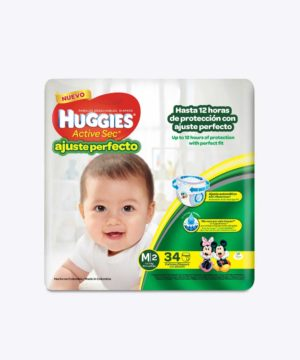 Huggies Active Sec A. PerfectO-Pants M X 34