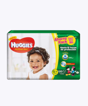 Huggies Active Sec  G X 100