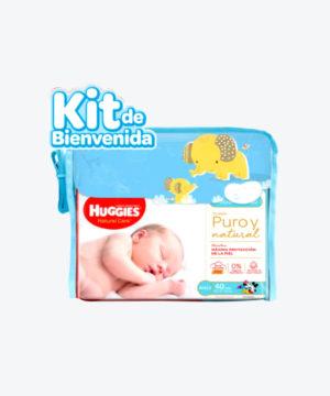 Huggies Kit Bienvenida (pañal,th,pijama,pañalera) Nuevo