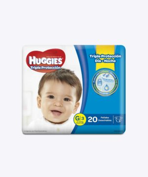 Huggies Triple Proteccion G X 20