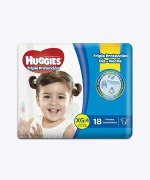 Huggies Triple Proteccion Xg X 18