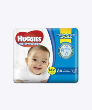 Huggies Triple Proteccion M X 24