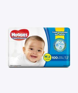Huggies Triple Proteccion M X 100