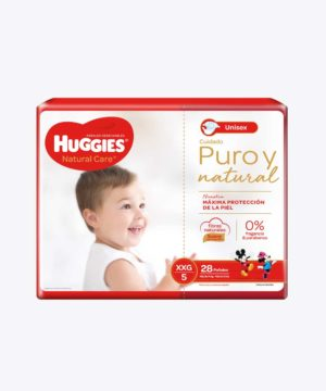 Huggies Natural Care Cotton Unisex Xxgx28
