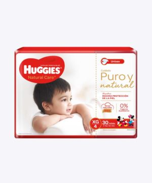 Huggies Natural Care Cotton Unisex Xgx30