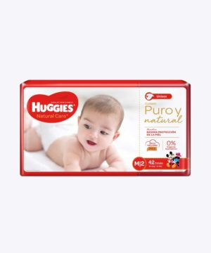 Huggies Natural Care Cotton Unisex Mx42