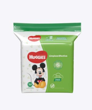 Toallas Humedas Huggies Active Fresh Refil X184