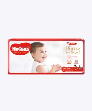 Huggies Natural Care Cotton Unisex Xxgx40x4