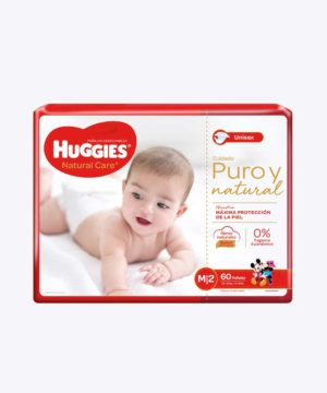 Huggies Natural Care Cotton Unisex Mx60