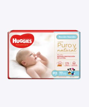 Huggies Natural Care Cotton Unisex P X50