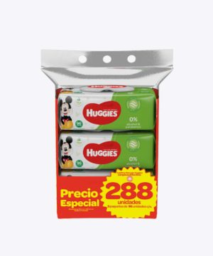 Toallas Humedas Huggies Active Fresh Disneytripack X 288