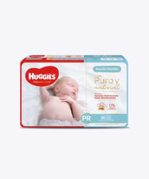 Huggies Natural Care Cotton Unisex Prematurox30 Nuevo